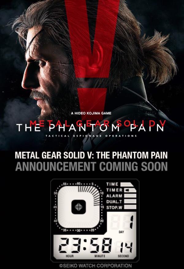 Previsto un annuncio relativo a Metal Gear Solid 5 The Phantom Pain nelle prossime 48 ore