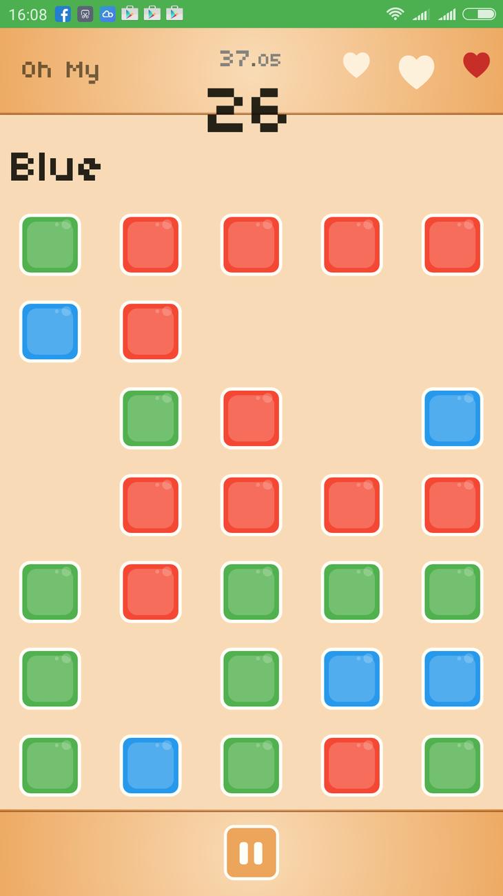 Oh My Color! disponibile gratis su Google Play Store