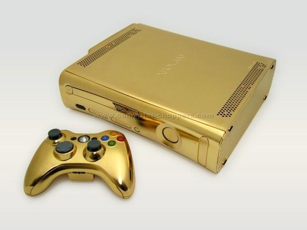 L'Xbox360 di Re Mida costa 4,999 dollari