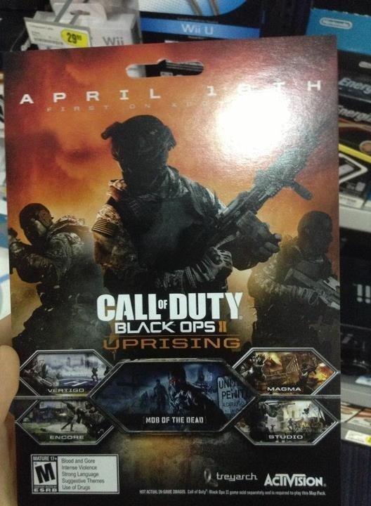 [Report] In arrivo il pacchetto mappe 'Uprising' per COD: Black Ops 2