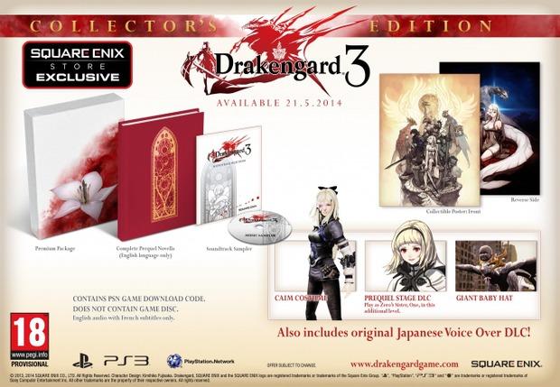 Drakengard 3: la collector's edition in arrivo in Europa