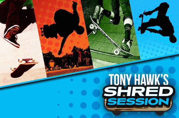 Tony Hawk's Shred Session annunciato ufficialmente