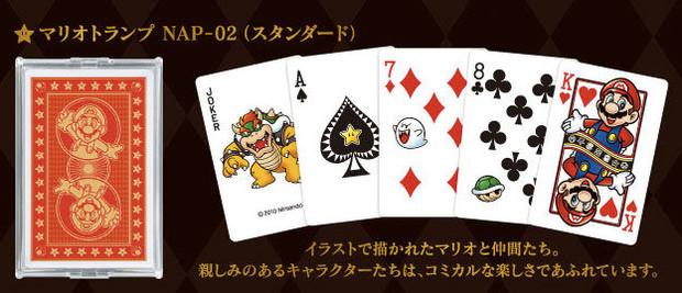 Nintendo torna a produrre carte da gioco con Mario