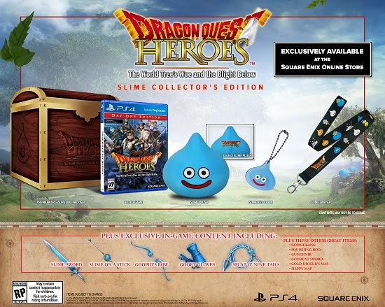 Dragon Quest: Heroes arriva ad ottobre negli U.S.A in tre edizioni