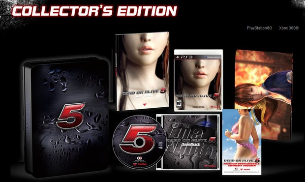 Dead or Alive 5: immagine della Collector's Edition