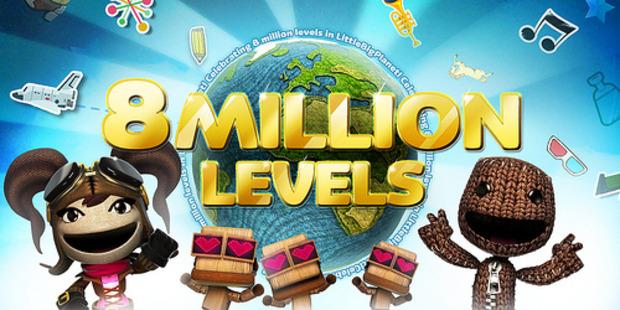 LittleBigPlanet: creati 8 milioni di livelli