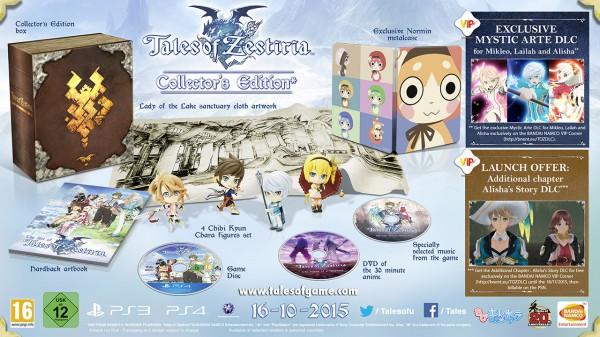 Annunciati i contenuti della Collector's Edition di Tales of Zestiria