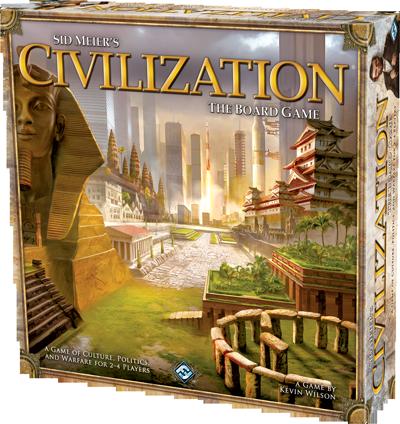 Civilization diventa un gioco da tavolo