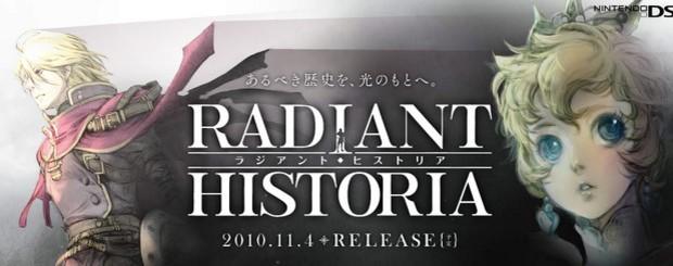Radiant Historia, nuove informazioni dal sito ufficiale giapponese