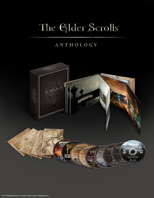 Bethesda annuncia The Elder Scrolls: Anthology