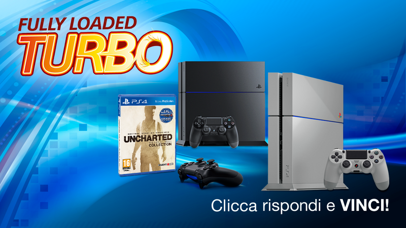 Sony lancia il concorso Fully Loaded Turbo, in palio anche PlayStation 4 20th Anniversary Edition