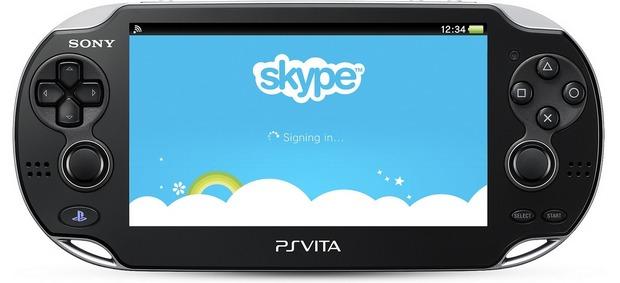 PS Vita: disponibile oggi  un aggiornamento per l'applicazione Skype