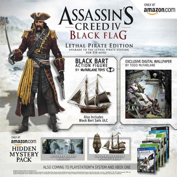 Assassin's Creed 4: annunciata la Lethal Pirate Edition