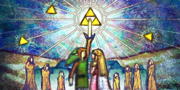 The Legend of Zelda: A Link Between Worlds: rilasciati artwork inediti