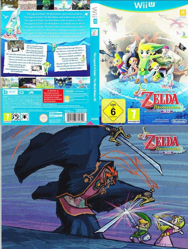 The Legend of Zelda: Wind Waker HD - la cover della Limited di Ganondorf è reversibile