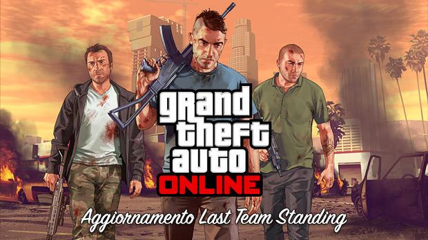 GTA Online: disponibile l'aggiornamento Last Team Standing