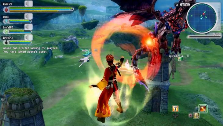 Sword Art Online Lost Song: pubblicate nuove immagini del gioco