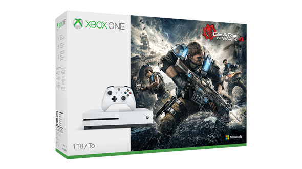 Xbox One S: annunciati due nuovi bundle con Gears of War 4