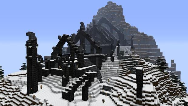 Minecraft Xbox 360 Edition: svelato il Pack di Skyrim