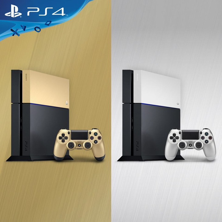 Arrivano in Italia le colorazioni Oro e Argento per le cover PlayStation 4