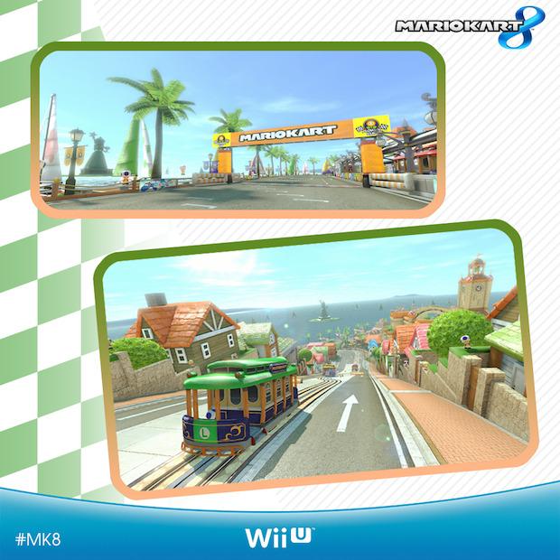 Mario Kart 8: Nintendo svela un nuovo circuito