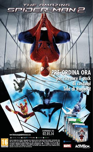 The Amazing Spider-Man 2 esce il 2 Maggio