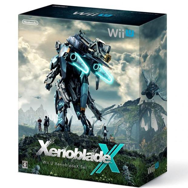 Svelata la confezione del bundle Wii U dedicato a Xenoblade Chronicles X