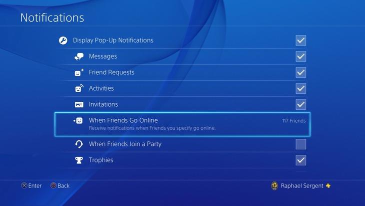 PlayStation 4: immagini e video del firmware 3.50