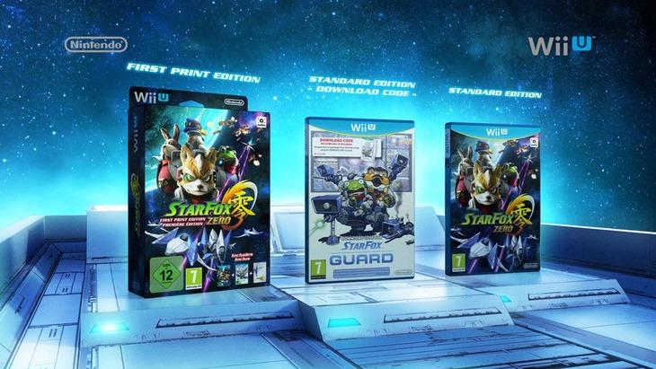 Star Fox Zero: percorsi multipli e novità su Project Guard