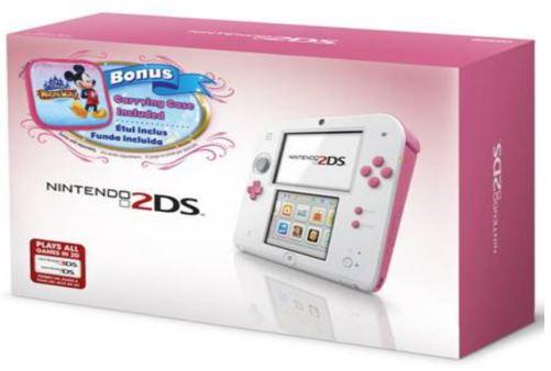 Nintendo 2DS: un'immagine per l'edizione dedicata a Disney Magical World