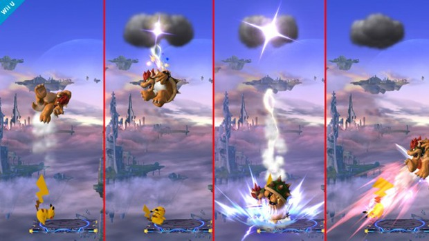 Super Smash Bros: Pikachu si mostra in un'immagine