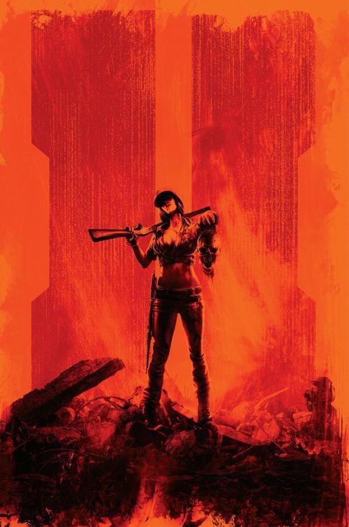 Call of Duty Black Ops II: un artwork per la modalità Zombie