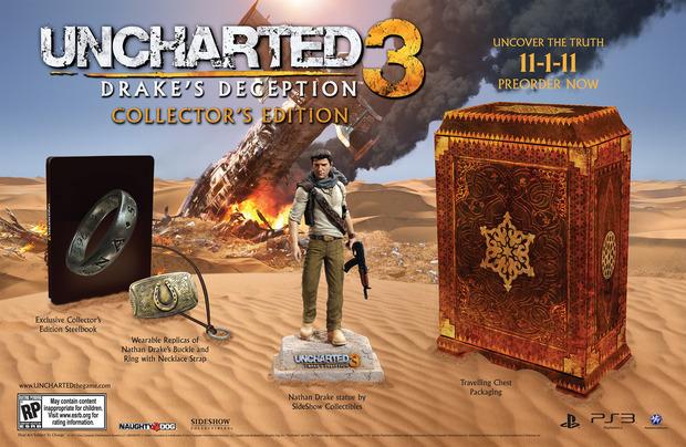 Uncharted 3: confermata la Collector's Edition negli USA e in Europa