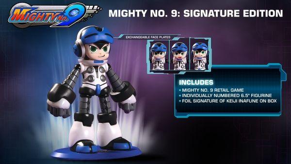 Annunciata la collector's edition di Mighty No. 9