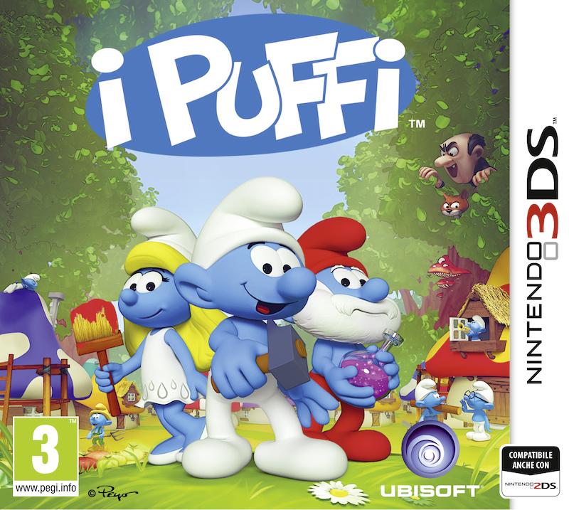 I Puffi si preparano a invadere il Nintendo 3DS