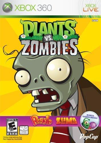 Plants Vs Zombies, per Xbox 360 anche in formato retail con Zuma e Peggle