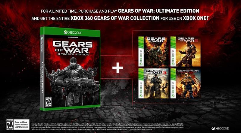 [Aggiornata] Gears of War Ultimate Edition: tutti i titoli della serie in regalo a chi acquista il gioco