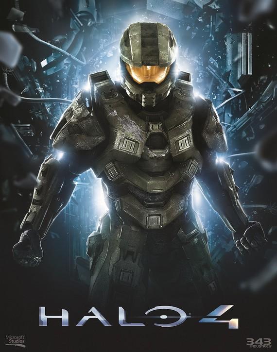 Halo 4: un artwork per Master Chief