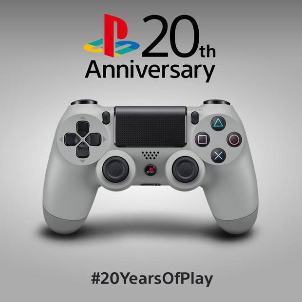 Il DualShock 4 20th Anniversary Edition arriva a metà settembre