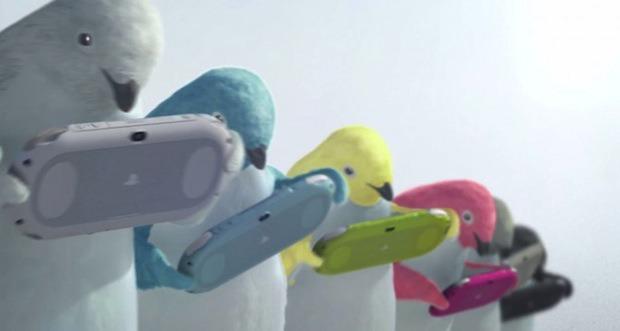 PlayStation Vita 2000: spot TV giapponese con i pinguini