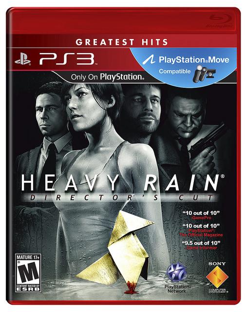 Heavy Rain: arriva negli USA la Director's Cut Edition