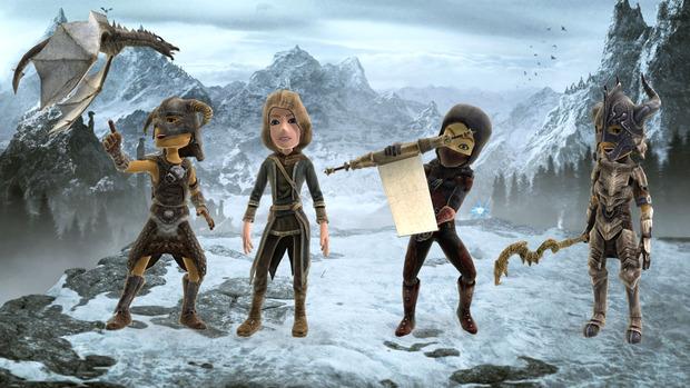 The Elder Scrolls V: Skyrim - Avatars Launch Collection ora disponibile su Xbox Live