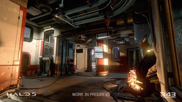 Halo 5 Guardians: screenshot di alcune mappe multiplayer incluse nella beta