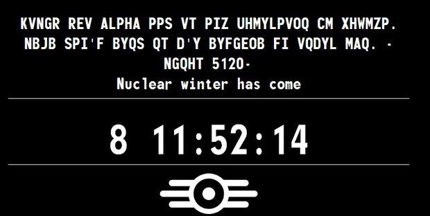 Fallout 4: nuovo aggiornamento per il teaser site