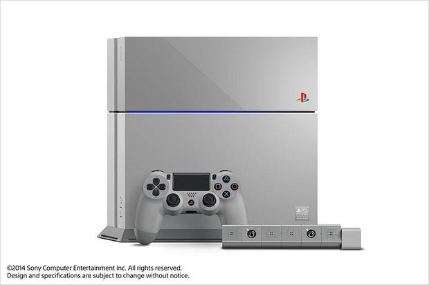 PlayStation 4 20th Anniversary Edition: modello speciale in edizione limitata