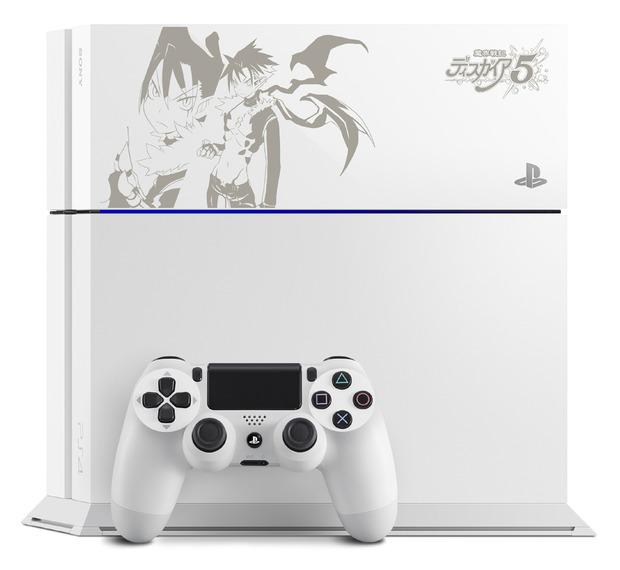 PlayStation 4 personalizzata per Disgaea 5