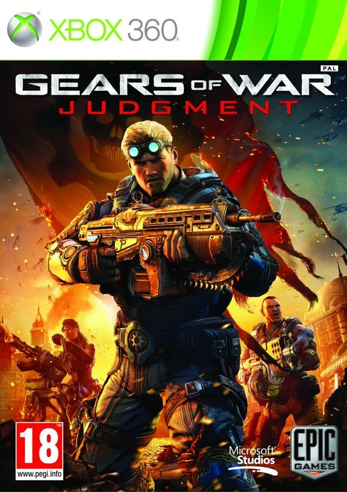Gears of War: Judgment: la copertina ufficiale