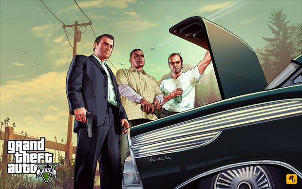 Grand Theft Auto 5: RockStar pubblica un nuovo artwork
