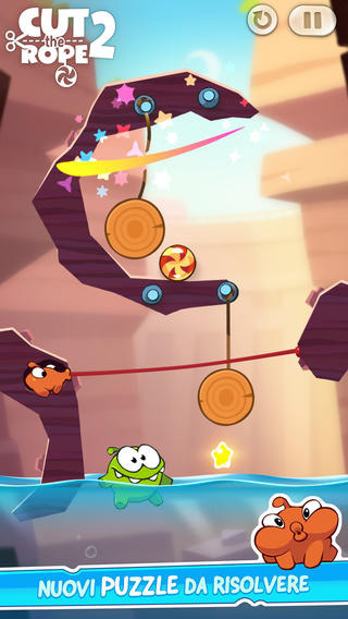 Cut the Rope 2 - recensione - iPhone