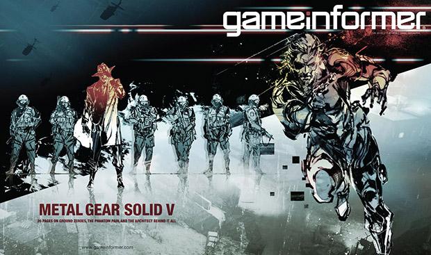 Metal Gear Solid 5 in copertina nel nuovo numero di Game Informer